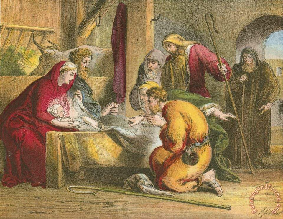 Nativity Paintings For Sale