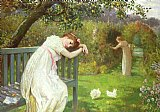 After School Prints - Sunday Afternoon - Ladies in a Garden by English School