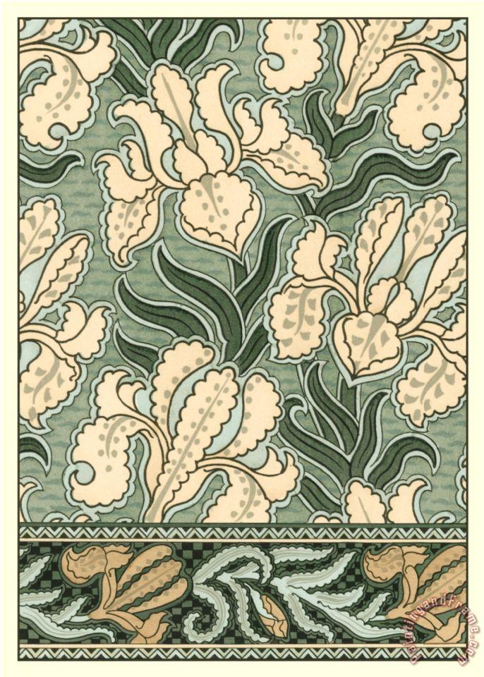 Garden Tapestry II Painting   Eugene Grasset Garden Tapestry II Art Print