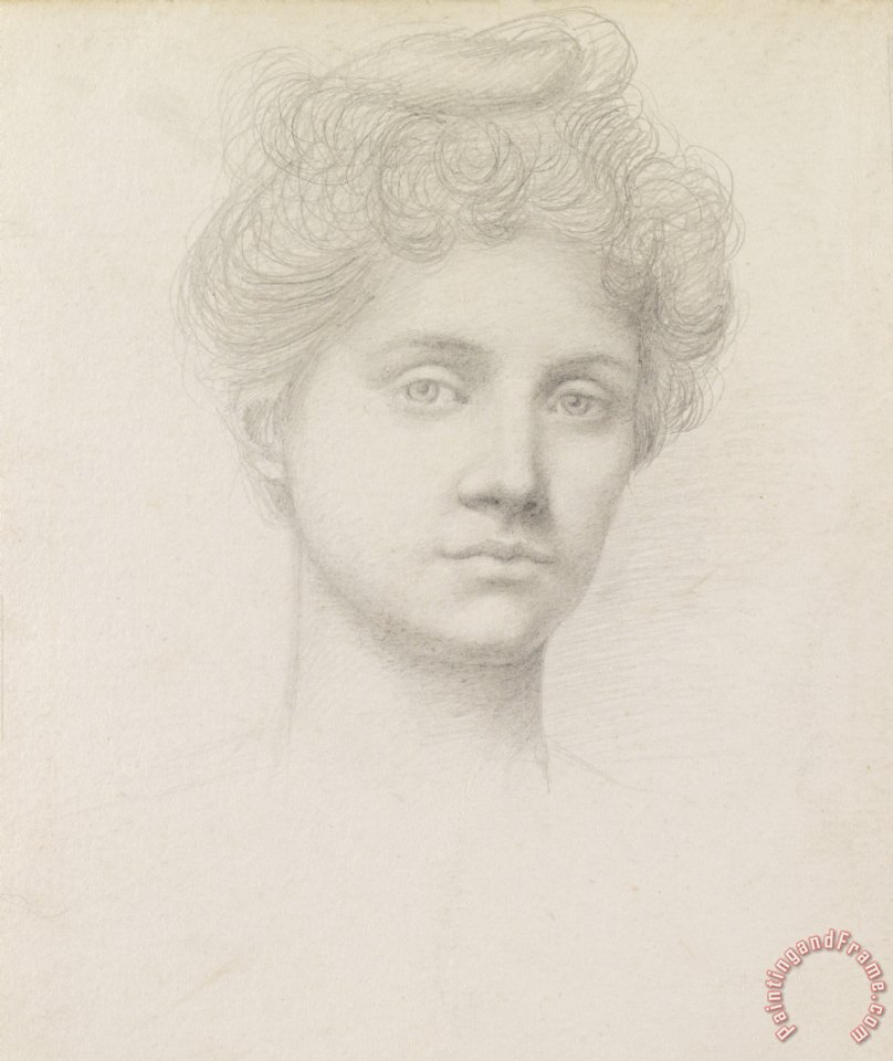 Evelyn De Morgan Ethel Pickering Art Painting