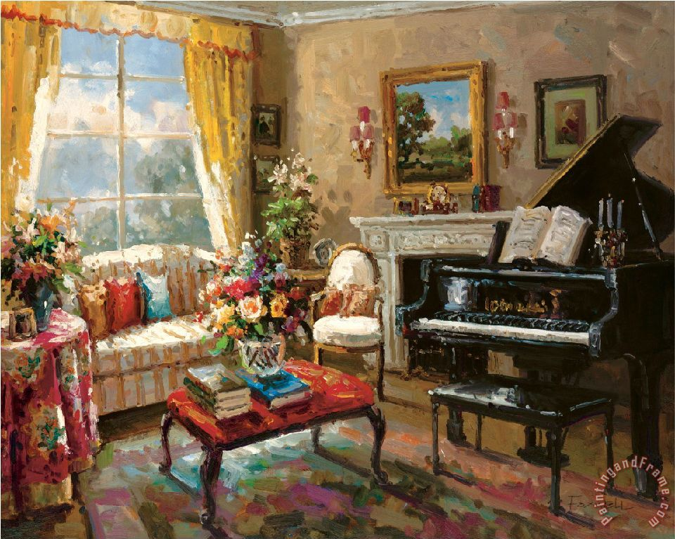 Foxwell The Music Room Art Print