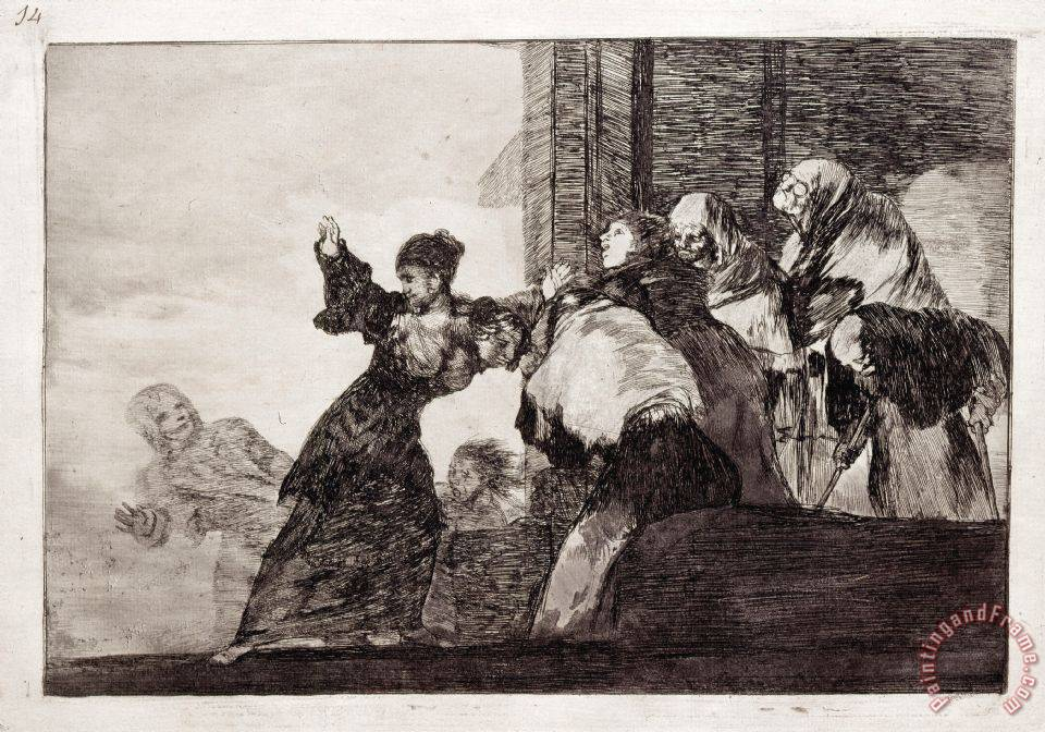 Poor Folly painting - Francisco De Goya Poor Folly Art Print