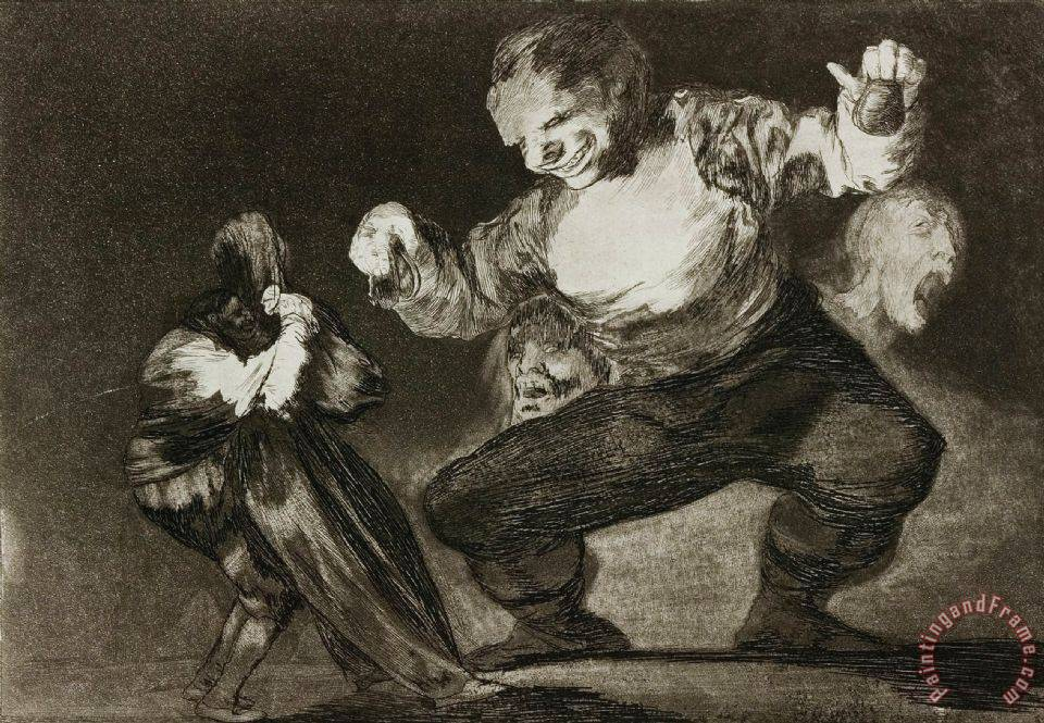 Simpleton painting - Francisco De Goya Simpleton Art Print
