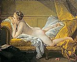 Reclining Nude by Francois Boucher