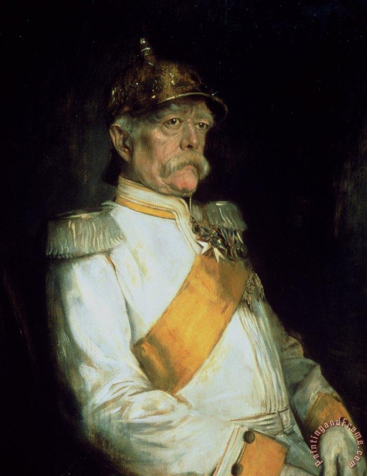Franz Seraph Von Lenbach Chancellor Otto Von Bismarck