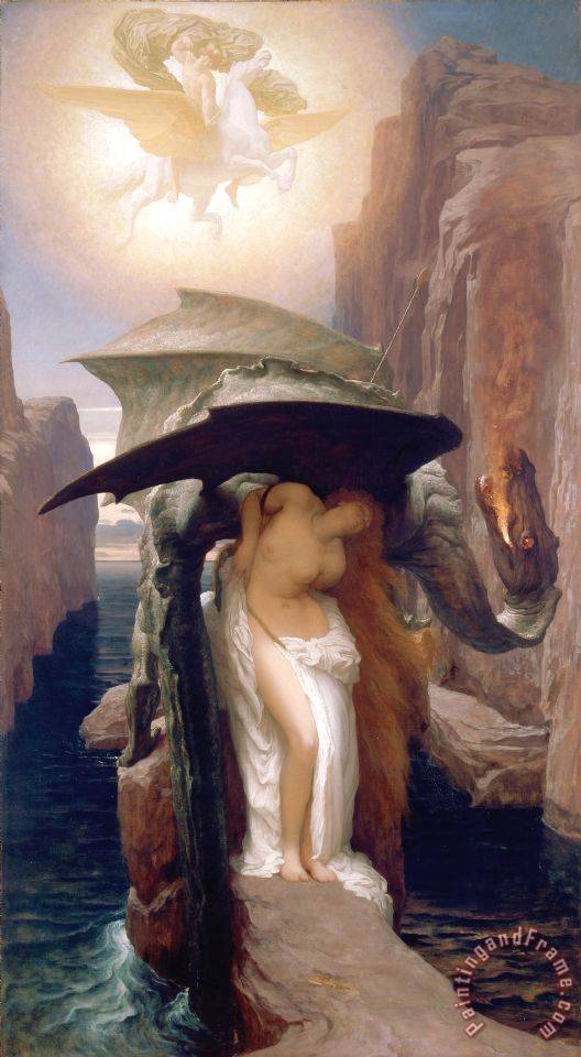 Frederic Leighton Perseus And Andromeda 2 Art Print