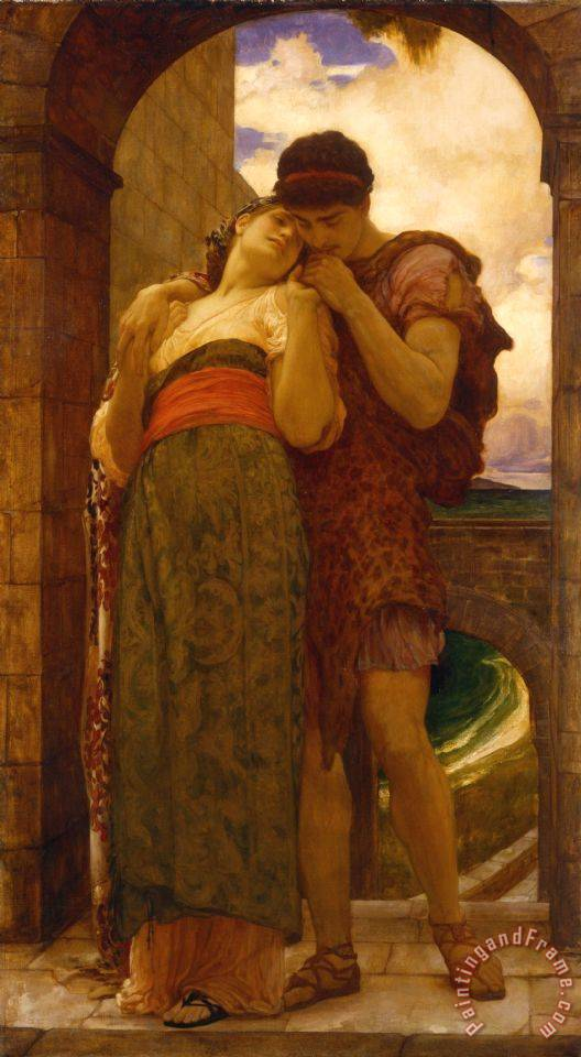 Frederic Leighton Wedded Art Print