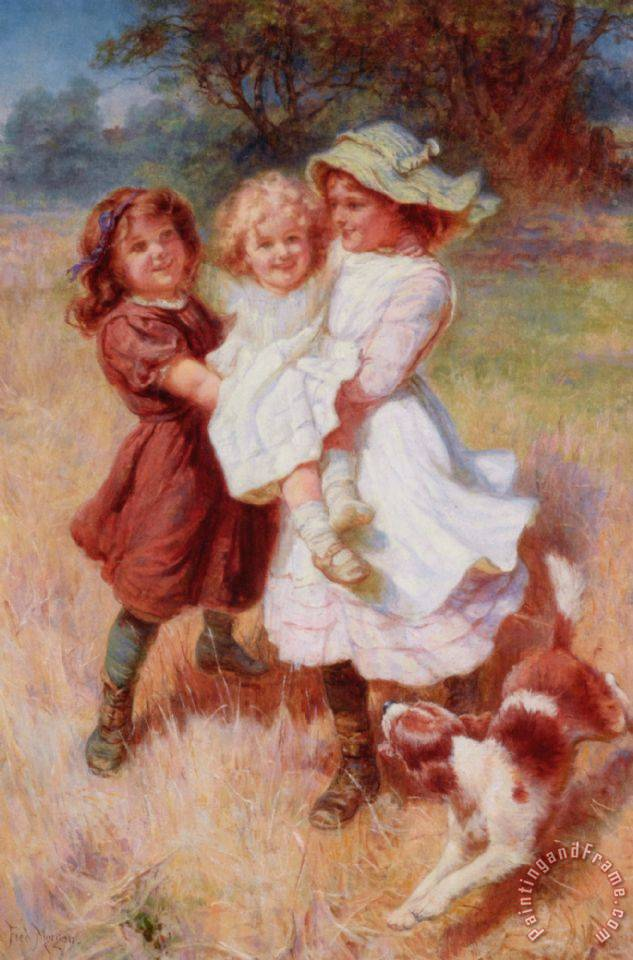 Frederick Morgan Good Friends Art Print