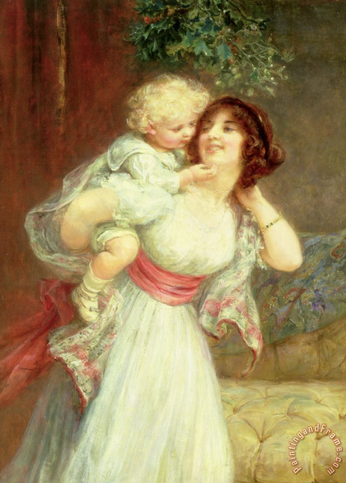 Frederick Morgan Mothers Darling Art Print