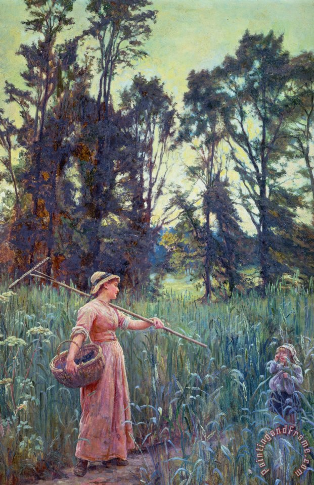 Not Far to Go painting - Frederick Morgan Not Far to Go Art Print