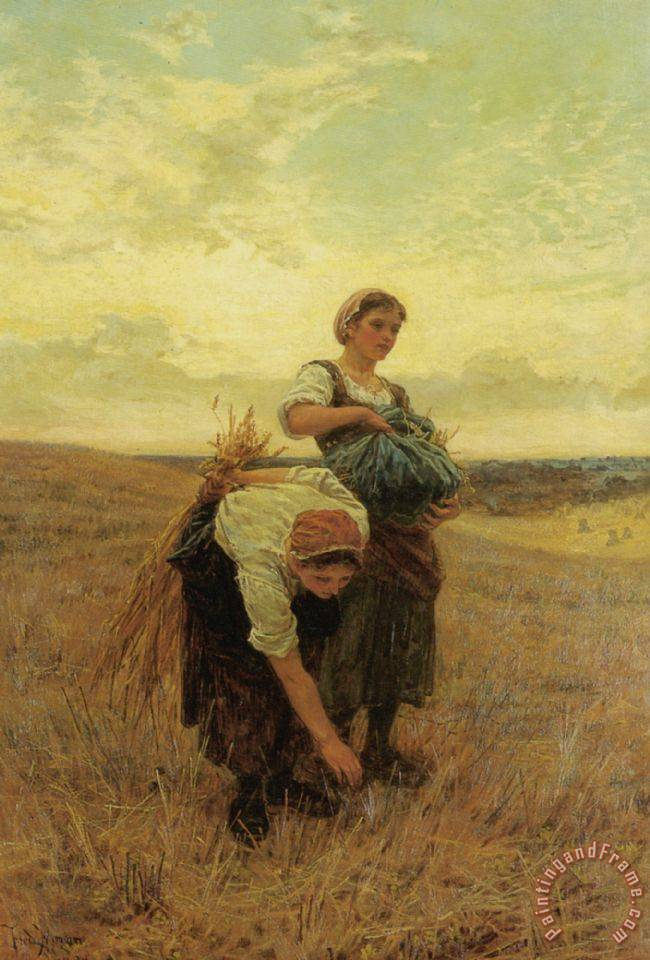 Frederick Morgan The Gleaners Art Print