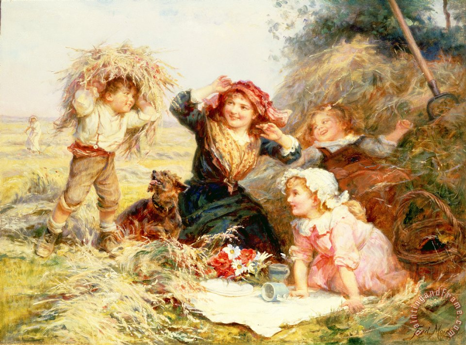 Frederick Morgan The Haymakers Art Print