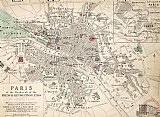 After School Prints - Map Of Paris At The Outbreak Of The French Revolution by French School