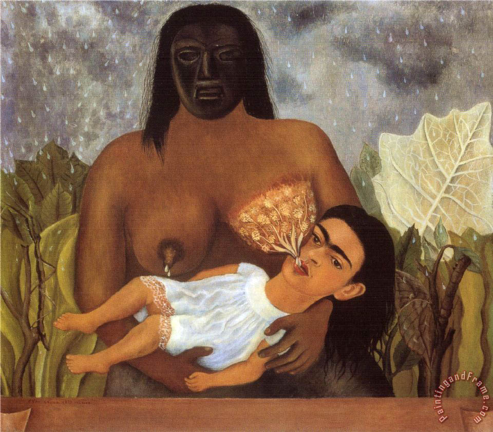 Frida Kalo - Page 3 My_nurse_and_i_1937