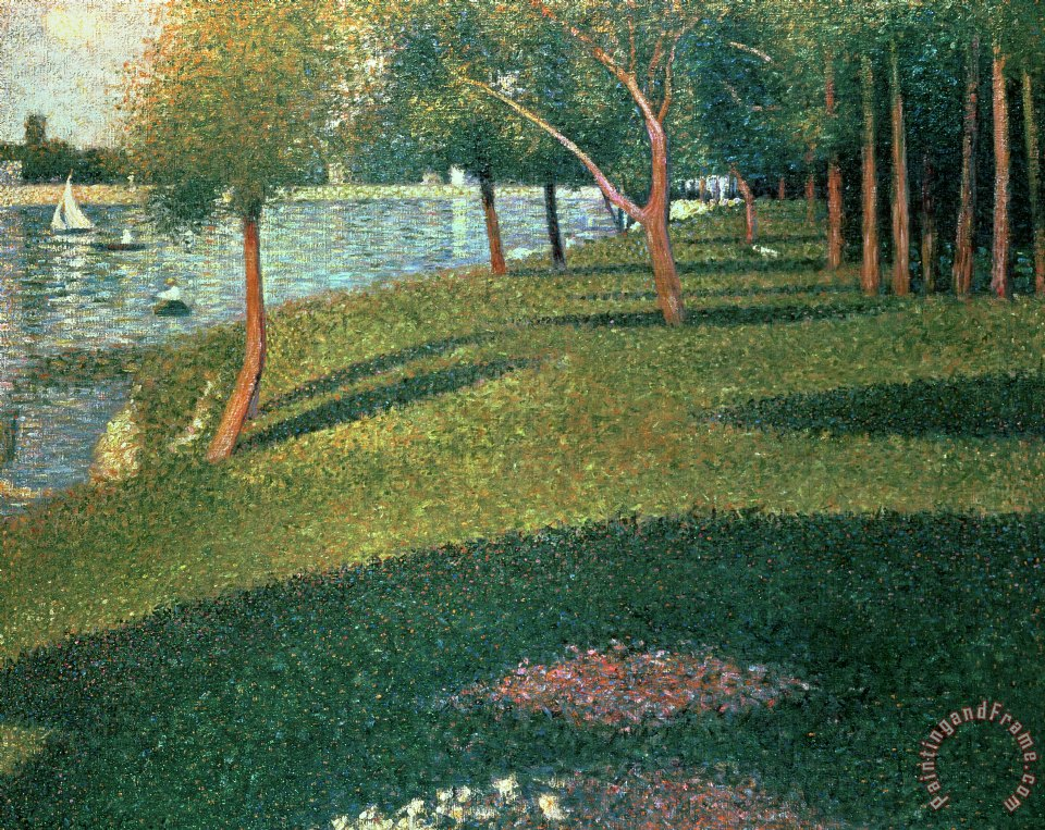 la grande jatte 60% off seurat - sunday afternoon on the island of la grande jatte - find oil painting reproductions and art reproductions at overstockart guaranteed low prices on all reproduction oil paintings from van gogh, monet, klimt and much more.