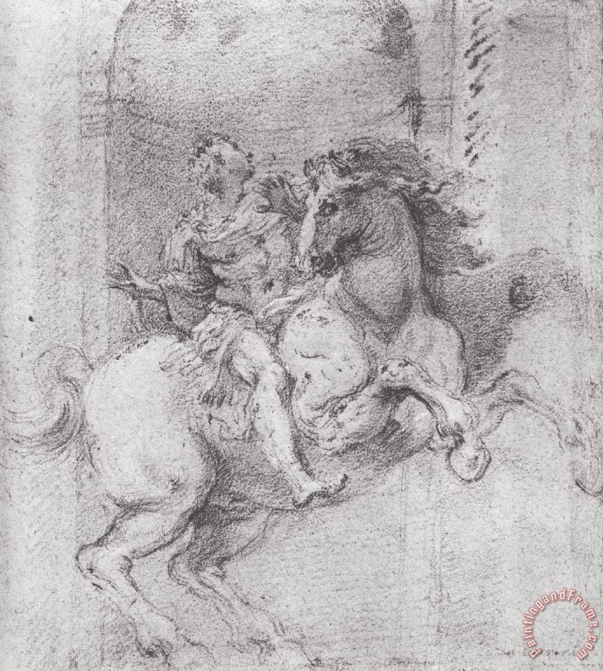 gian lorenzo bernini study for the equestrian monument of study for the equestrian monument of constantine the great painting gian lorenzo bernini