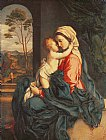 The Virgin and Child Embracing by Giovanni Battista Salvi