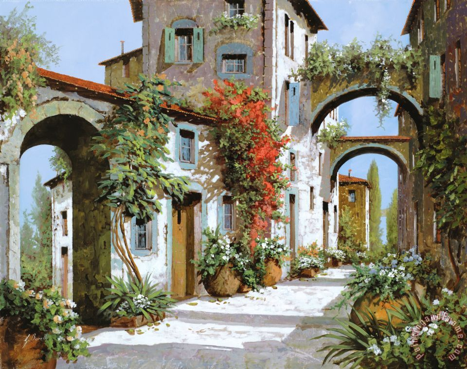 Altri Archi painting - Collection 7 Altri Archi Art Print