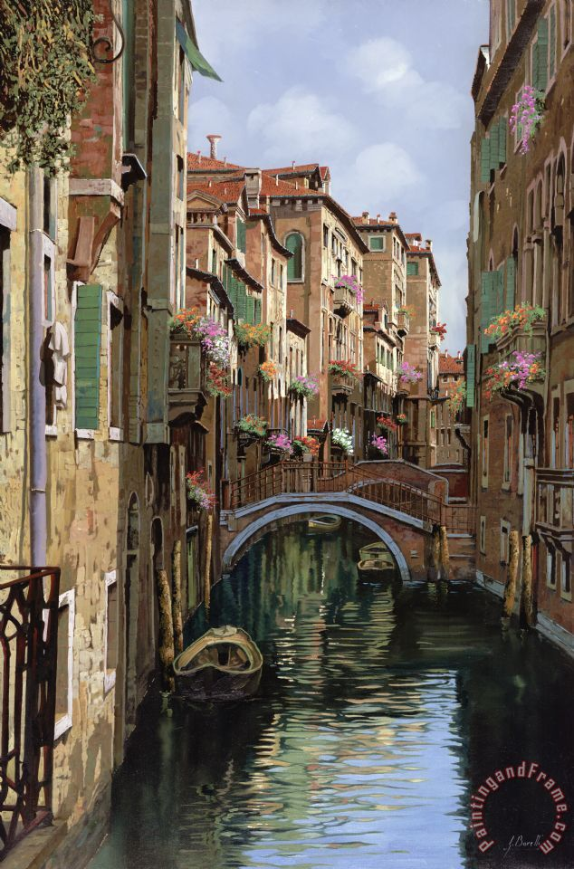 I Ponti A Venezia painting - Collection 7 I Ponti A Venezia Art Print