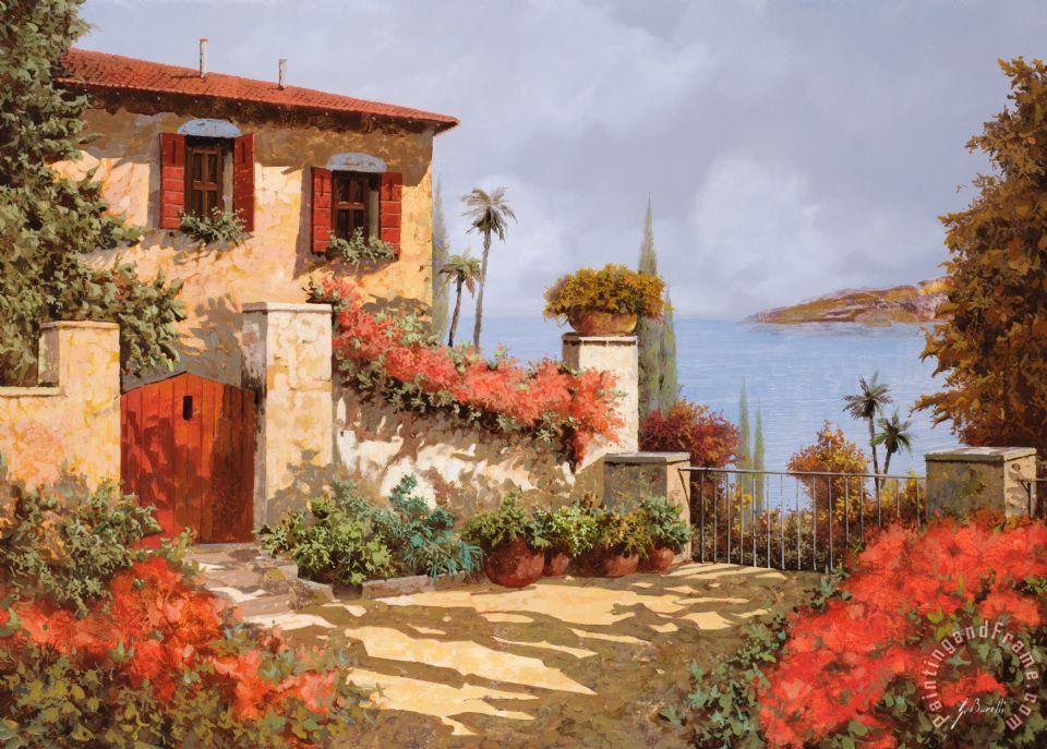 Collection 7 il giardino rosso painting il giardino for Il giardini
