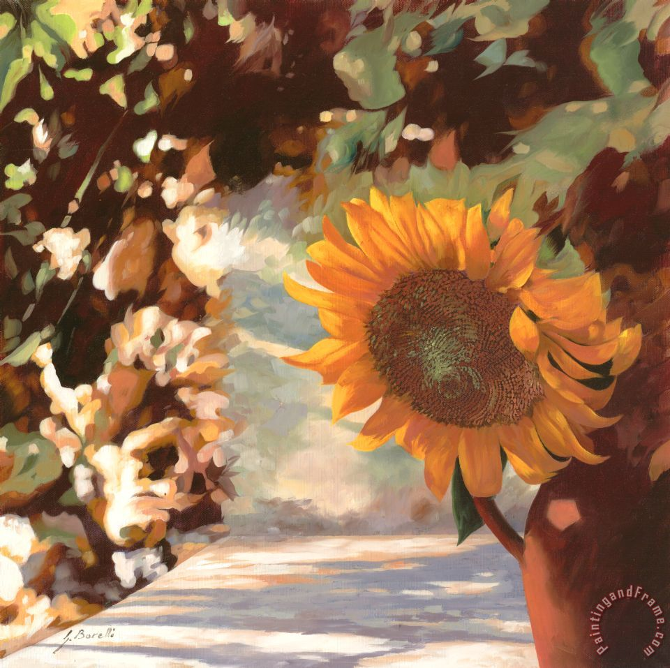 Il Girasole painting - Collection 7 Il Girasole Art Print