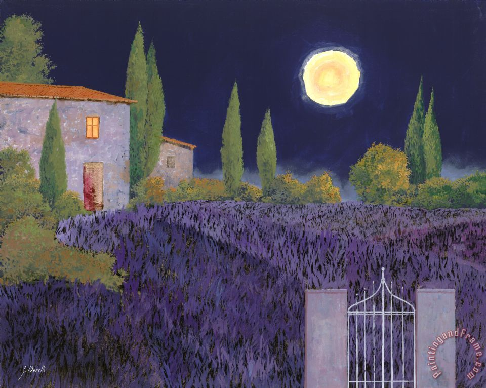Lavanda Di Notte painting - Collection 7 Lavanda Di Notte Art Print