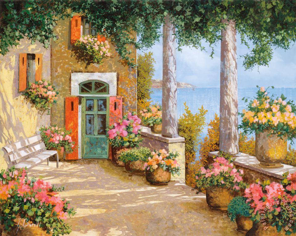 Collection 7 Le Colonne Sulla Terrazza painting - Le Colonne Sulla ...