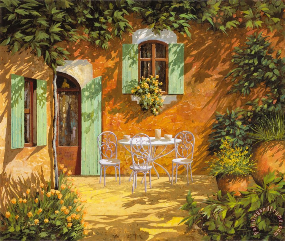 Sul Patio painting - Collection 7 Sul Patio Art Print