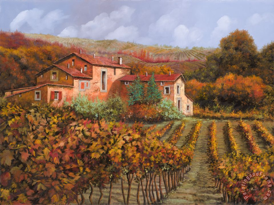 Collection 7 tra le vigne a Montalcino Art Painting