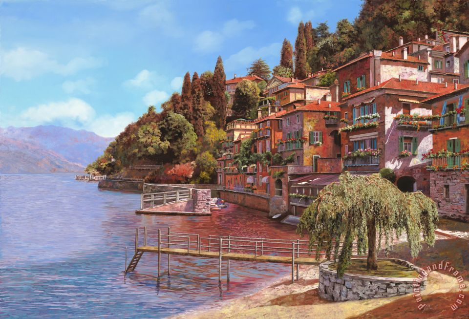how to get from bellagio to varenna