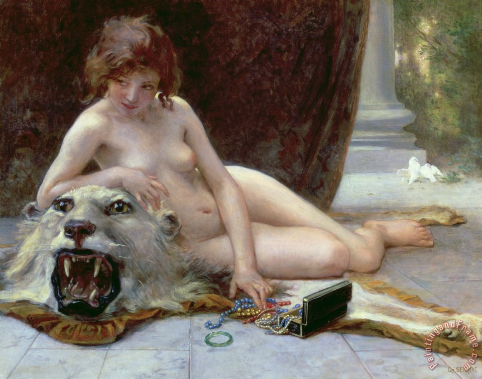 The Jewel Case painting - Guillaume Seignac The Jewel Case Art Print