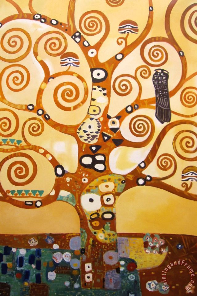 Tree Of Life Painting Gustav Klimt Art Print