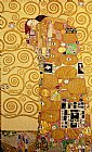 Fulfilment Stoclet Frieze by Gustav Klimt