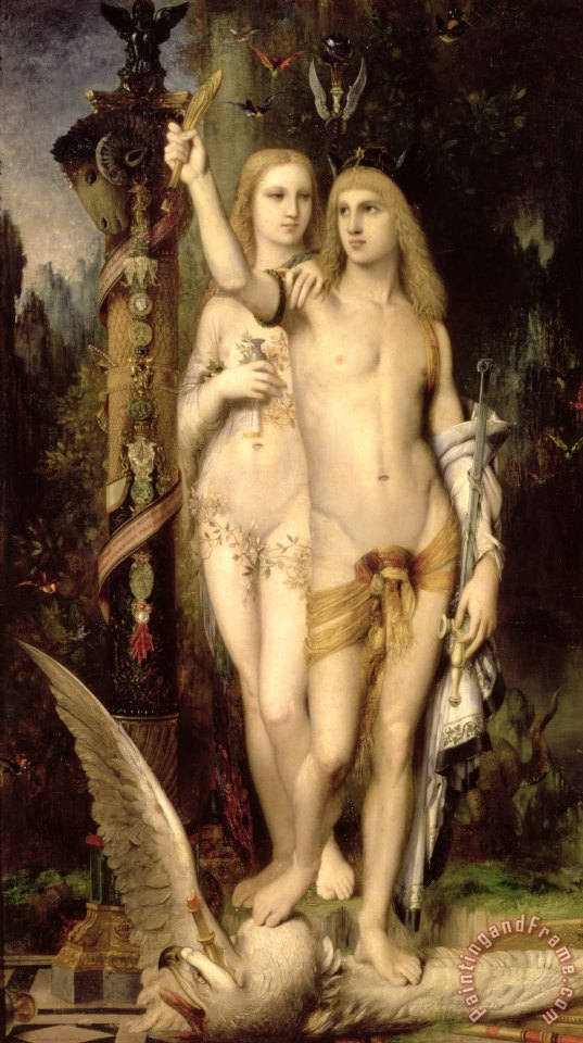 Gustave Moreau Jason And Medea Art Print
