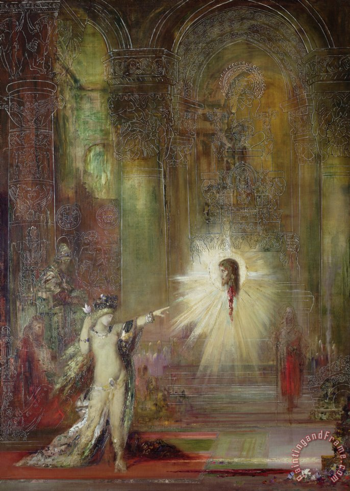 Gustave Moreau The Apparition Art Print