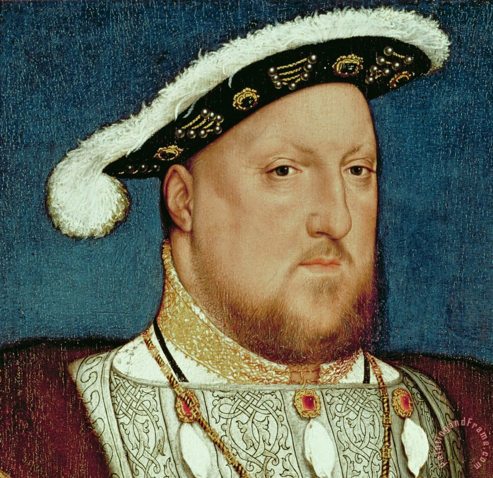 Hans Holbein the Younger King Henry VIII Art Print