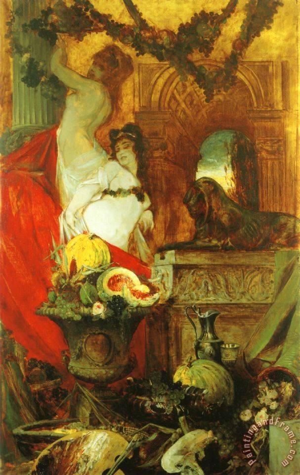 Resultado de imagen de Makart hans allegory lust life