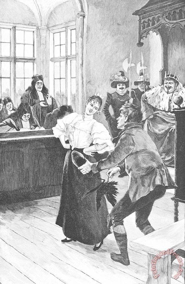Hans Tegner Hans Christian Andersen Illustration painting