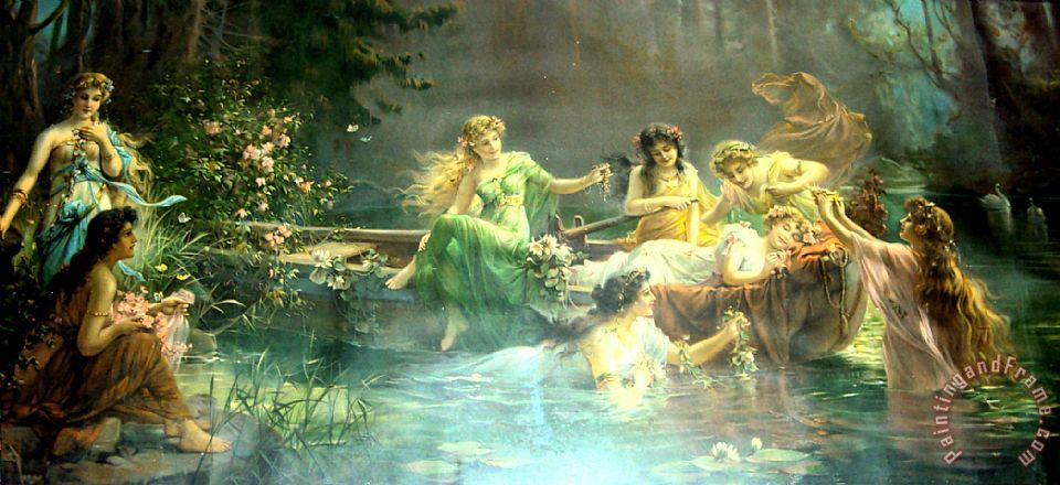 Hans Zatzka Untitled3 Art Print