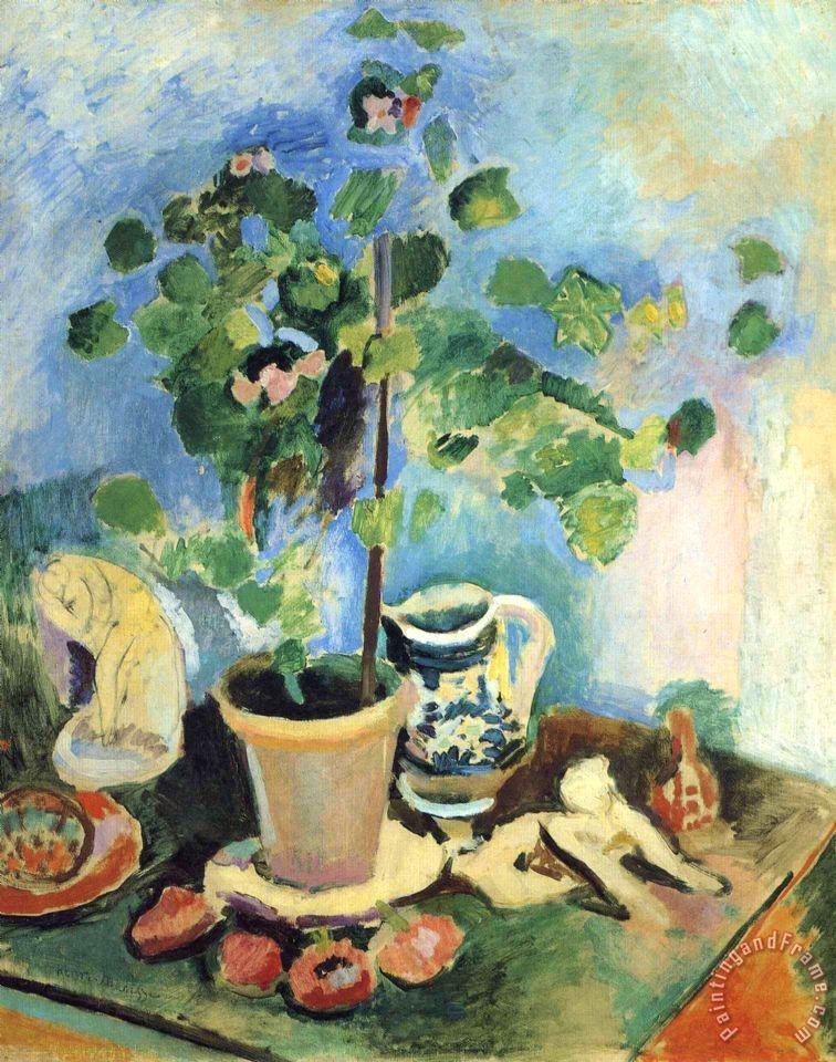 Henri Matisse Still Life 12 Painting Still Life 12 Print