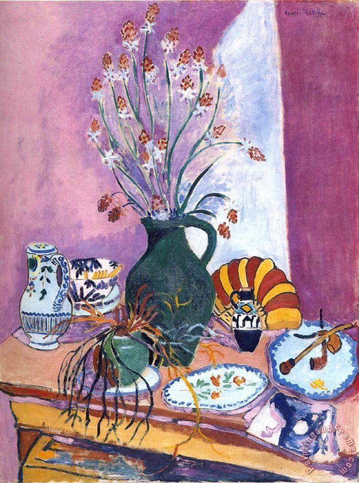 Henri Matisse Still Life With Flowers Painting Still