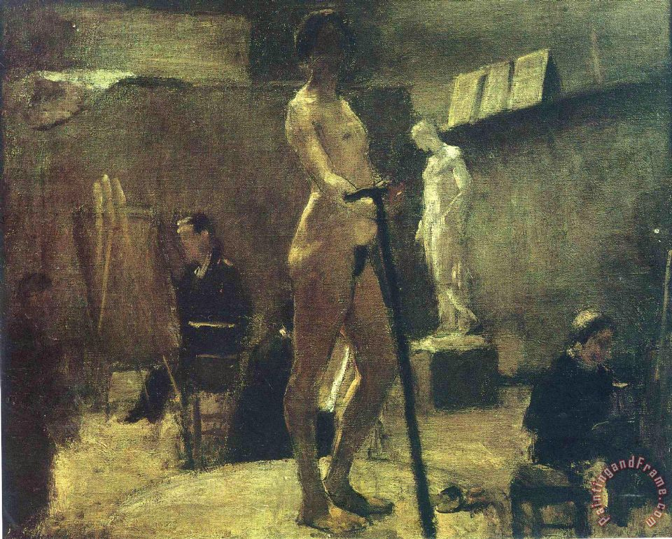 Henri Matisse The Study Of Gustave Moreau 1895 Painting