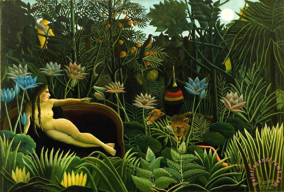 Henri Rousseau Dream Art Print