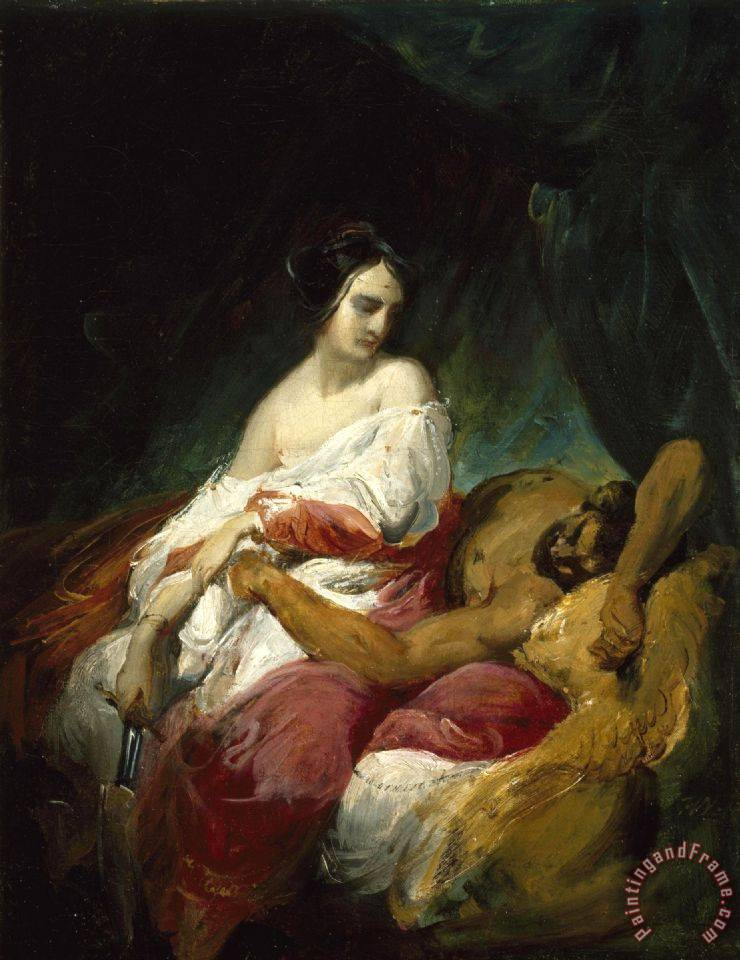 Horace Vernet Judith And Holofernes painting - Judith And ...