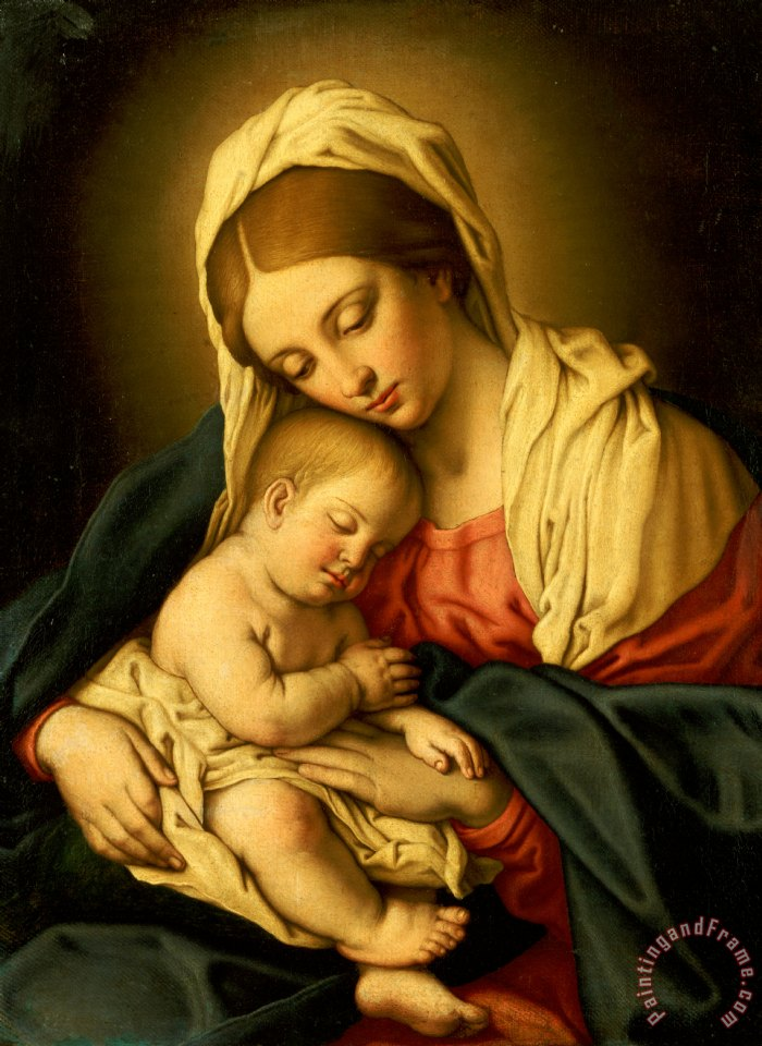 SODOMA, Il - The Madonna and Child Painting   mother and child ...