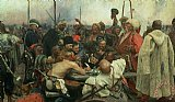 The Zaporozhye Cossacks writing a letter to the Turkish Sultan