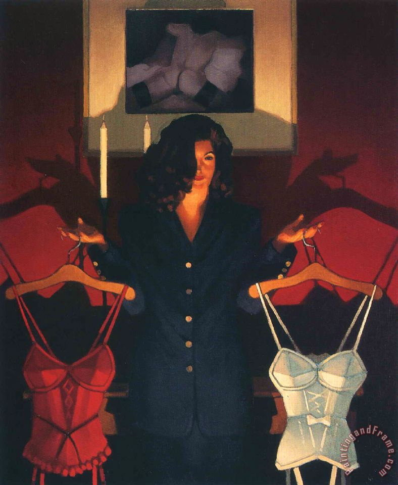 Heaven Or Hell The Sweetest Choice painting - Jack Vettriano Heaven Or Hell The Sweetest Choice Art Print