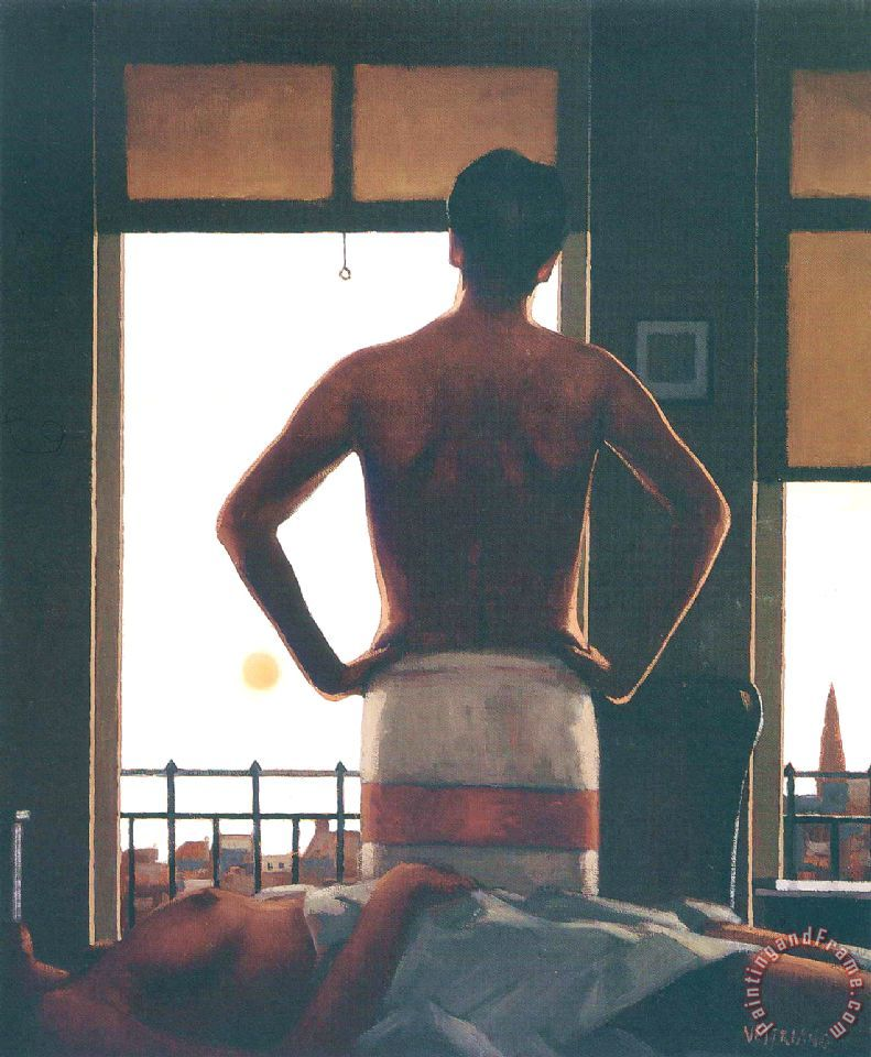 Jack Vettriano The Remains of Love Art Print