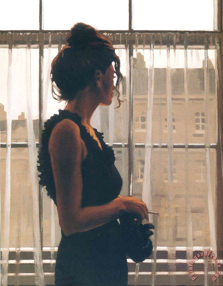 Yesterday S Dreams painting - Jack Vettriano Yesterday S Dreams Art Print