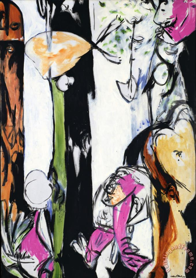 Easter And The Totem 1953 painting - Jackson Pollock Easter And The Totem 1953 Art Print